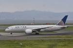 よしポンさんが、関西国際空港で撮影したユナイテッド航空 787-8 Dreamlinerの航空フォト(写真)