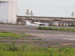 名無しの権兵衛さんが、調布飛行場で撮影した朝日航空 172P Skyhawkの航空フォト(写真)