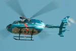 かみきりむしさんが、名古屋飛行場で撮影した千葉県警察 BK117C-2の航空フォト(写真)