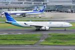 sky77さんが、羽田空港で撮影したガルーダ・インドネシア航空 A330-343Xの航空フォト(写真)