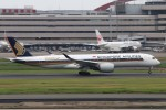 青春の1ページさんが、羽田空港で撮影したシンガポール航空 A350-941XWBの航空フォト(写真)
