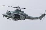 マリオ先輩さんが、横田基地で撮影したアメリカ海兵隊 UH-1Yの航空フォト(写真)