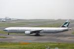 徳兵衛さんが、関西国際空港で撮影したキャセイパシフィック航空 777-367の航空フォト(写真)