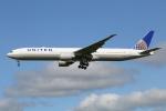 prado120さんが、成田国際空港で撮影したユナイテッド航空 777-322/ERの航空フォト(写真)