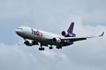 おかめさんが、成田国際空港で撮影したフェデックス・エクスプレス MD-11Fの航空フォト(写真)