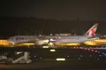 NRT_roseさんが、成田国際空港で撮影したカタール航空 777-3DZ/ERの航空フォト(写真)