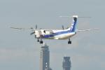 sukiさんが、成田国際空港で撮影したANAウイングス DHC-8-402Q Dash 8の航空フォト(写真)