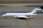 KAZKAZさんが、羽田空港で撮影したSTC Aviation Services BD-700-1A10 Global 6000の航空フォト(写真)