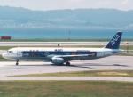 プルシアンブルーさんが、関西国際空港で撮影した全日空 A321-131の航空フォト(写真)