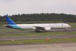 けいとパパさんが、成田国際空港で撮影したガルーダ・インドネシア航空 777-3U3/ERの航空フォト(写真)