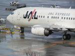 hachiさんが、那覇空港で撮影したJALエクスプレス 737-446の航空フォト(写真)