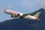 Kinyaさんが、香港国際空港で撮影したエチオピア航空 787-8 Dreamlinerの航空フォト(写真)