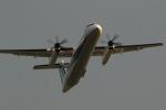 GNPさんが、鹿児島空港で撮影したANAウイングス DHC-8-402Q Dash 8の航空フォト(写真)