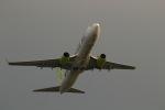 GNPさんが、鹿児島空港で撮影したソラシド エア 737-86Nの航空フォト(写真)