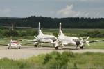 コギモニさんが、能登空港で撮影した日本航空学園 YS-11A-500の航空フォト(写真)