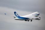 どりーむらいなーさんが、成田国際空港で撮影した日本貨物航空 747-4KZF/SCDの航空フォト(写真)