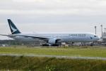 ワーゲンバスさんが、新千歳空港で撮影したキャセイパシフィック航空 777-367の航空フォト(写真)