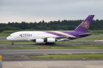 どりーむらいなーさんが、成田国際空港で撮影したタイ国際航空 A380-841の航空フォト(写真)