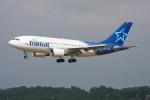 こすけさんが、トゥールーズ・ブラニャック空港で撮影したエア・トランザット A310-304の航空フォト(写真)