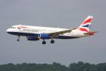 こすけさんが、トゥールーズ・ブラニャック空港で撮影したブリティッシュ・エアウェイズ A320-232の航空フォト(写真)