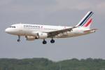 こすけさんが、トゥールーズ・ブラニャック空港で撮影したエールフランス航空 A319-113の航空フォト(写真)