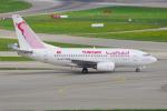 PASSENGERさんが、チューリッヒ空港で撮影したチュニスエア 737-6H3の航空フォト(写真)
