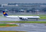 Dreamer-K'さんが、羽田空港で撮影したルフトハンザドイツ航空 A340-642の航空フォト(写真)