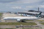 lonely-wolfさんが、関西国際空港で撮影したキャセイパシフィック航空 777-367の航空フォト(写真)