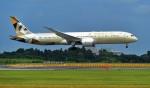 kamerajiijiさんが、成田国際空港で撮影したエティハド航空 787-9の航空フォト(写真)