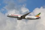 トールさんが、香港国際空港で撮影したエチオピア航空 787-8 Dreamlinerの航空フォト(写真)