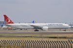 Orange linerさんが、成田国際空港で撮影したターキッシュ・エアラインズ 777-3F2/ERの航空フォト(写真)
