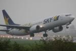 やまけんさんが、仙台空港で撮影したスカイマーク 737-86Nの航空フォト(写真)