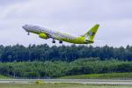 dragonflyさんが、新千歳空港で撮影したジンエアー 737-86Nの航空フォト(写真)