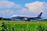 うらしまさんが、高松空港で撮影した全日空 777-281/ERの航空フォト(写真)