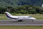 じーのさんさんが、八丈島空港で撮影したダイヤモンド・エア・サービス MU-300の航空フォト(写真)