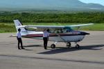 E-75さんが、鹿部飛行場で撮影した朝日航空 172Pの航空フォト(写真)