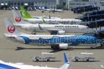 SFJ_capさんが、中部国際空港で撮影した日本トランスオーシャン航空 737-4Q3の航空フォト(写真)