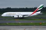 JA8961RJOOさんが、成田国際空港で撮影したエミレーツ航空 A380-861の航空フォト(写真)