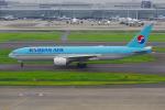 PASSENGERさんが、羽田空港で撮影した大韓航空 777-2B5/ERの航空フォト(写真)