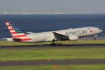 キイロイトリ1005fさんが、羽田空港で撮影したアメリカン航空 777-223/ERの航空フォト(写真)