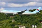 あしゅーさんが、福岡空港で撮影した大韓航空 A330-323Xの航空フォト(写真)