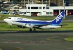 あしゅーさんが、福岡空港で撮影したANAウイングス 737-54Kの航空フォト(写真)