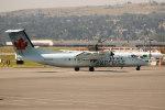 チャッピー・シミズさんが、カルガリー国際空港で撮影したエア・カナダ ジャズ DHC-8-311 Dash 8の航空フォト(写真)