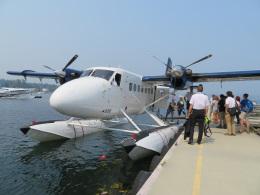 チャッピー・シミズさんが、ビクトリア・インナーハーバー空港で撮影したウェスト・コースト・エア DHC-6-100 Twin Otterの航空フォト(写真)