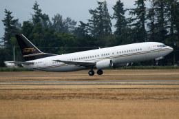 チャッピー・シミズさんが、アボッツフォード国際空港で撮影したフレア航空 737-4Q8の航空フォト(写真)