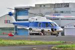 はるかのパパさんが、東京ヘリポートで撮影した日本法人所有 S-76Cの航空フォト(写真)