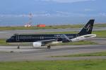 みるぽんたさんが、関西国際空港で撮影したスターフライヤー A320-214の航空フォト(写真)