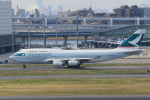みるぽんたさんが、羽田空港で撮影したキャセイパシフィック航空 747-467の航空フォト(写真)