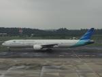 さゆりんごさんが、成田国際空港で撮影したガルーダ・インドネシア航空 777-3U3/ERの航空フォト(写真)