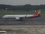 さゆりんごさんが、成田国際空港で撮影したアシアナ航空 A321-231の航空フォト(写真)